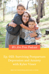 How to survive postpartum depression and anxiety.